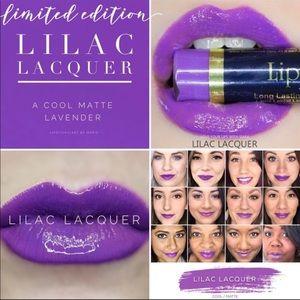 Brand new sealed. lilac Lacquer Lipsense